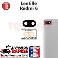 Vitre arrière caméra XIAOMI REDMI 6 Lentille appareil photo Lens verre