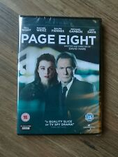 Page Eight [DVD] BRAND NEW AND FACTORY SEALED. FREE POST