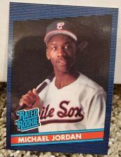 MICHAEL JORDAN RATED ROOKIE PROMO CARD RARE. BASEBALL/BASKETBALL