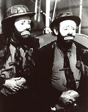 Emmett Kelly Henry Fonda 8x10 photo S7451
