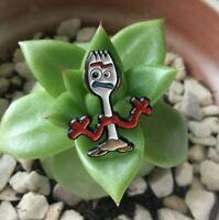 """BRAND NEW Forky Lapel Pin """"Disney inspired"""" 30mm Soft Enamel"""
