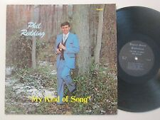 Phil Redding My Kind Of Song Christain Rare HTF LP