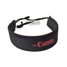 Neoprene Shoulder Neck Strap for Canon EOS 5D 7D 60D 400D 550D 1000D 1100D DSLR