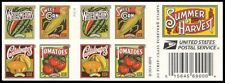US 5004-5007 5007b Summer Harvest forever booklet (20 stamps) MNH 2015