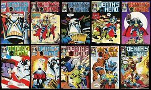 Deaths Head Comic Set 1-2-3-4-5-6-7-8-9-10 Lot 1988 Fantastic Four Iron Man 2020