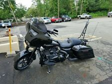 """22"""" TALL BACKREST 4 SISSY BAR 4 HARLEY TOURING ROAD KING STREET ELECTRA  09-16"""