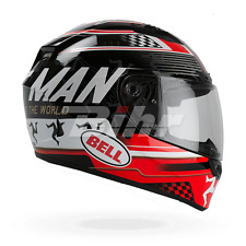 BELL Casco integral QUALIFIER DLX ISLE OF MAN (57/58) M NEGRO/ROJO