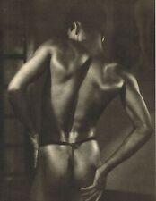 1940's Vintage Asian Male Nude Sri Lankan Boy Lionel Wendt Photo Gravure Print