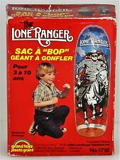 RARE VINTAGE 1980 The Lone Ranger Giant Inflatable Bop Bag