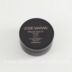 Josie Maran Mini Whipped Argan Oil Body Butter 'Be True' Unscented (2oz/59ml)