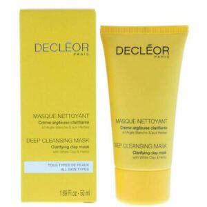 Decleor Deep Cleansing Mask, Clarifying Clay Mask 50ml - New & Boxed