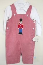 NWT Lolly Wolly Doodle Toy Soldier Applique Longall & Shirt Boy's Sz 6 Month