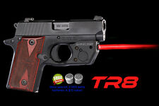 ARMALASER TR8 RED LASERSIGHT for Sig Sauer P238 & P938 w/ Grip Touch Activation