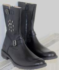 bottes/bottines fille Ramdam cuir noir pointure 37 neuves