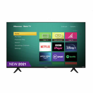 "Hisense Roku R50A7200UK 50"" Smart 4K Ultra HD LED Freeview HD TV C Grade"