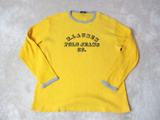 VINTAGE Ralph Lauren Polo Jeans Thermal Long Sleeve Shirt Adult Extra Large 90s