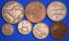 Irish coin Collection EIRE Ireland half crown to half penny coins *[19801]