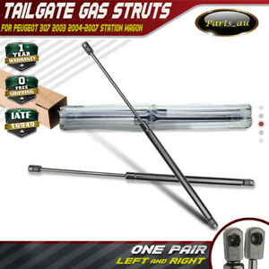 Set of 2 Tailgate Gas Struts for Peugeot 307 Station Wagon 2003-2007 8731F8