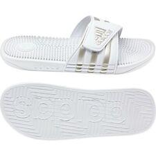 Mujer Adidas Adissage Blanco Platinum diapositiva Athletic Sandalia Ducha G28842 5-10
