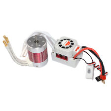 3650 4300KV Waterproof Brushless Motor with 60A ESC for 1/10 Racing Car Boat