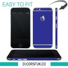 iPhone 6 skin blue - apple blue skin vinyl - iphone 6 sticker / iphone 6 decals