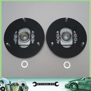 Regolabile Supporto Ammortizzatore Cuscinetto di Uniball Set VA BMW E46 E60 E61