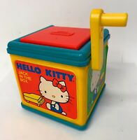 Hello Kitty Jack in the Box Vintage 1983 CBS Toys Music Sounds Child Guidance