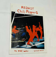 Red Hot Chili Peppers OCTOBER 2003 Program Inglewood - LA - The Forum Show