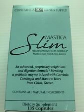 Mastica Slim Premium Weight Loss Formula 135 Capsules  Exp. 08/2020