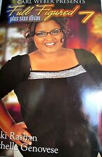 Full Figured 7 Plus Size Divas by Nikki Rashan hardcover Book Club edition new