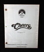 "CHEERS ""A Kiss Is Still A Kiss"" Script Final Draft October 15, 1987"