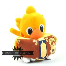 FINAL FANTASY CHOCOBO PELUCHE 18 CM con libro magie plush 7 8 cloud pupazzo VII