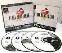 Final Fantasy VIII 8 ~ Sony PlayStation PS1 Black Label ~ PAL *Excellent CIB*