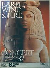 EARTH WIND & FIRE CONCERT TOUR POSTER 1982 RAISE