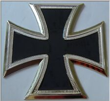 German Prussian Iron Cross Medal Car Badge Auto Motorcycle Biker Emblem Sticker