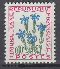 FRANCE TIMBRE TAXE NEUF N° 96 **  fleurs des champs gentiane