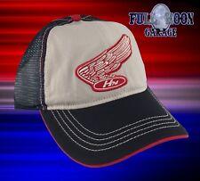 NEW Honda Motorcycle Wing Trucker Mens Snapback Cap Hat