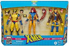 Marvel Legends X-Men Wolverine Jean Grey Cyclops 80th Anniversary 3 Pack