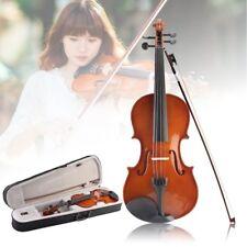 4/4 Violine Geige Für Anfänger Inkl. + Koffer + Bogen + Brücke + Kolophonium FE