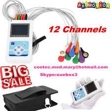 12 canali Holter ECG / ECG 24 Ore registratore / Analyzer + Software, TLC5000,CE