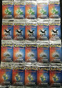 16x VINTAGE 2003 Pokémon Booster EX Ruby & Sapphire