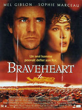 Affiche 120x160cm BRAVEHEART 1995 Mel Gibson, Sophie Marceau, Mcgoohan NEUVE