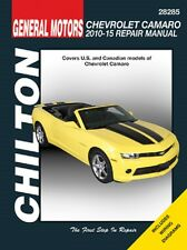2010-2015 Chevrolet Camaro Chiltons Repair Service Workshop Shop Manual 0922064