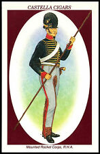 Mounted Rocket Corps, RHA #7 Soldiers Of Waterloo Castella Trade Card (C271)