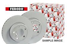 2 Ferodo Brake Discs Rear Solid MINI 1.4 1.6 2.0 Clubman Roadster One 09-16