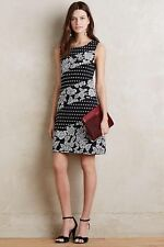 NWT Anthropologie Maeve Effemy Jacquard Shift Dress Size M