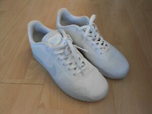 MENS NIKE CORTEZ ULTRA TRAINERS - UK  SZ 9 - WHITE - USED IN A GOODISH CONDITION
