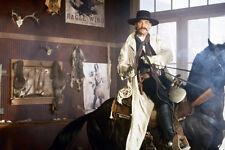 Kurt Russell As Wyatt Earp Tombstone 11x17 Mini Poster Pointing Gun On Horseback