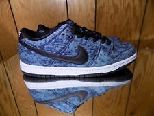 new style 2d4da d25b9 Nike DUNK LOW PREMIUM SB Midnight Navy Black White 313170-402 (591) s