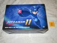 Capcom Megaman 11 Mega Man vs DR Wily Action Diorama Groveling Bobble Statue B